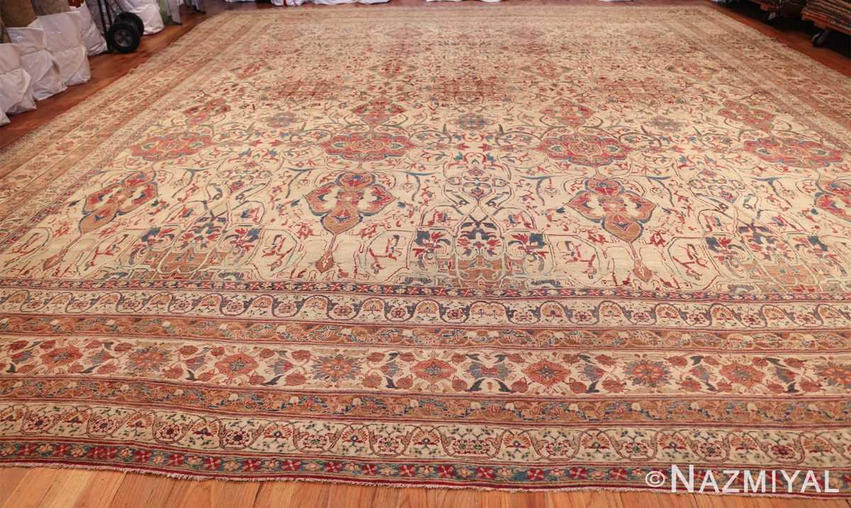 large square antique persian kerman rug 49676 whole Nazmiyal