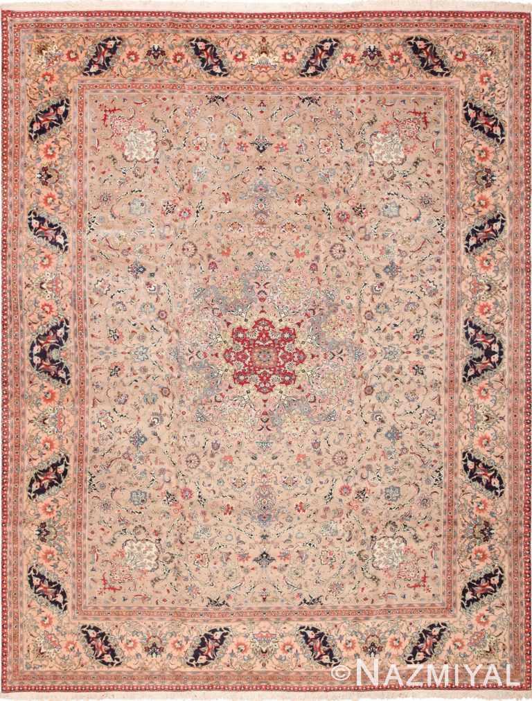 Fine Decorative Large Vintage Persian Tabriz Rug 60011 by Nazmiyal