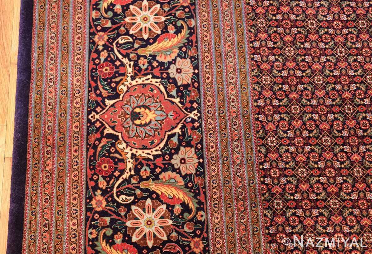 large vintage tabriz persian rug 60028 border Nazmiyal