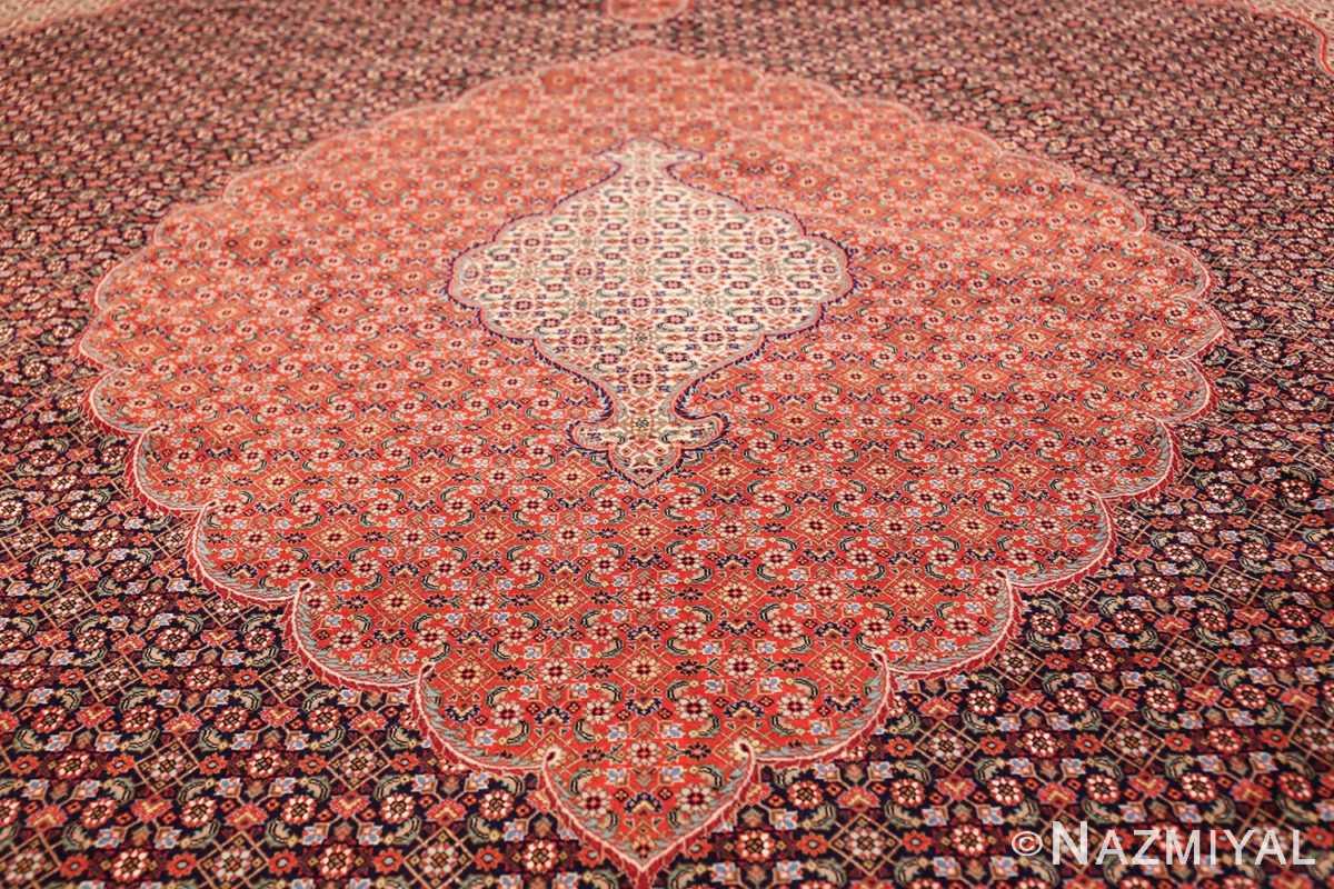 large vintage tabriz persian rug 60028 medallion Nazmiyal