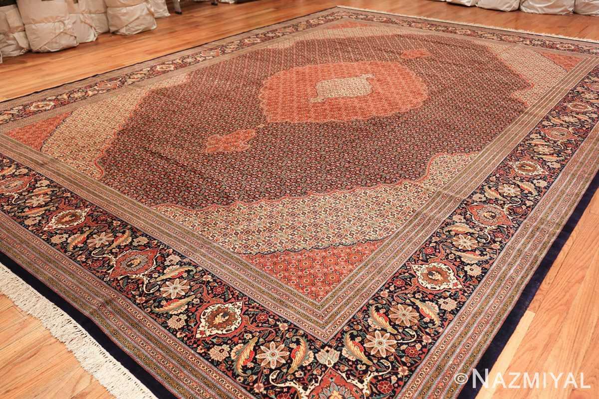 large vintage tabriz persian rug 60028 side Nazmiyal