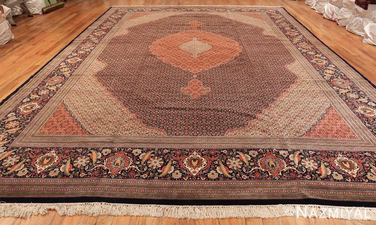 large vintage tabriz persian rug 60028 whole Nazmiyal