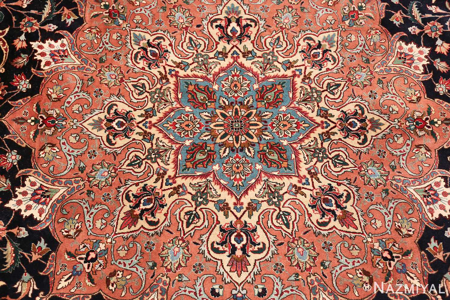 large vintage tabriz persian rug 60040 middle Nazmiyal