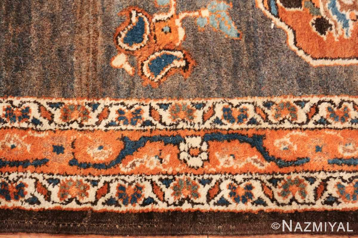 long and narrow antique persian tabriz runner rug 49687 border Nazmiyal