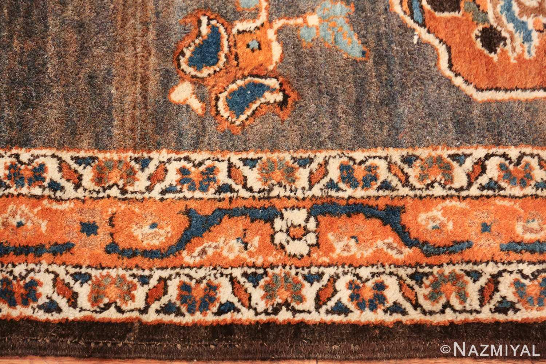 long and narrow antique persian tabriz runner rug 49687 border Nazmiyal
