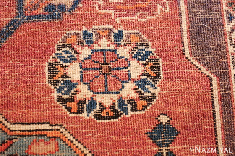 long and narrow antique Persian Tabriz runner rug 49687 Knots Nazmiyal