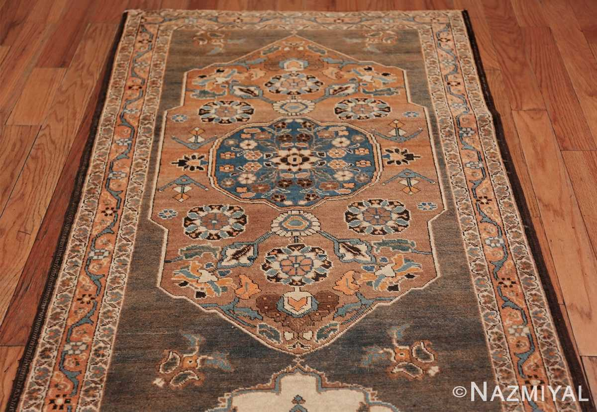 long and narrow antique Persian Tabriz runner rug 49687 Top Nazmiyal