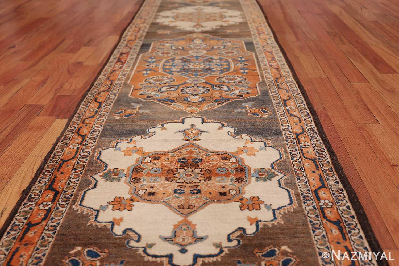 long and narrow antique Persian Tabriz runner rug 49687 Trio Nazmiyal