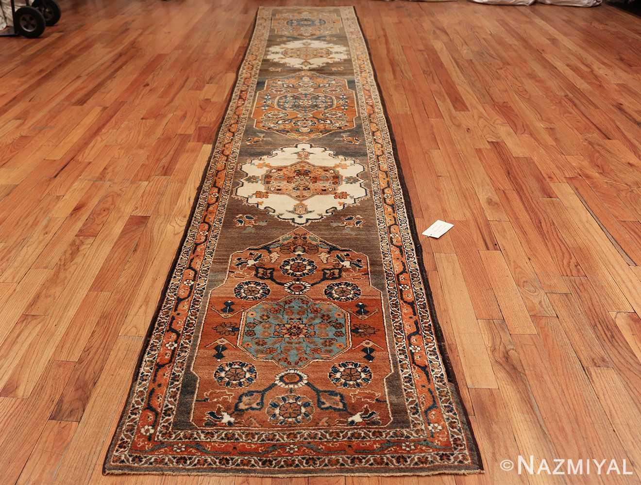 long and narrow antique Persian Tabriz runner rug 49687 Whole Nazmiyal