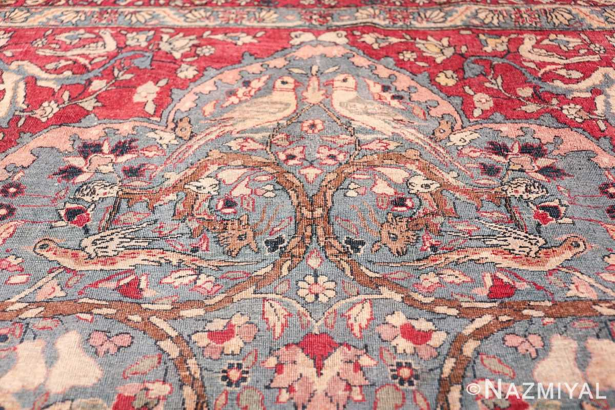 mythical antique tree of life design persian tehran rug 49197 arch Nazmiyal