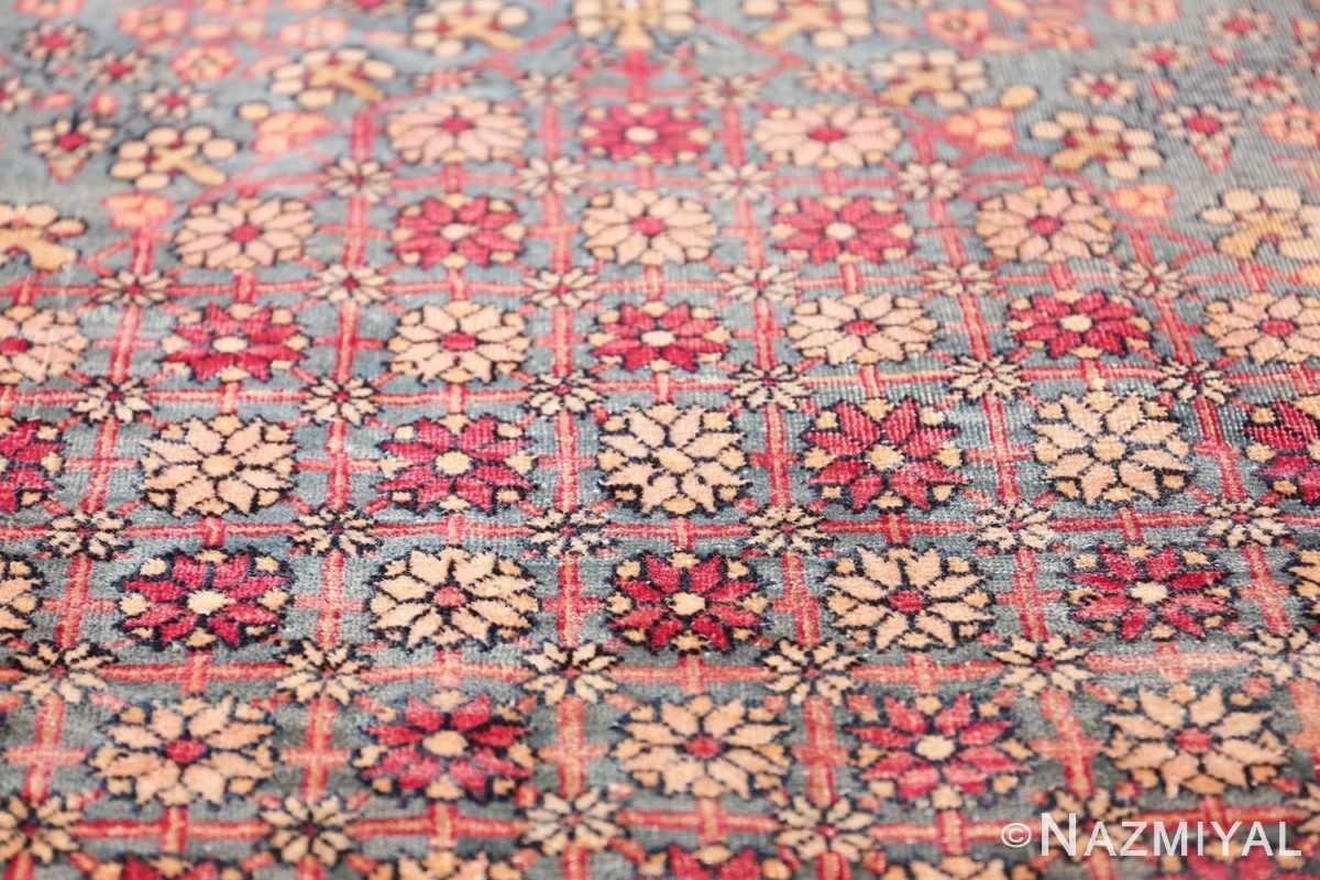 mythical antique tree of life design persian tehran rug 49197 ivory Nazmiyal