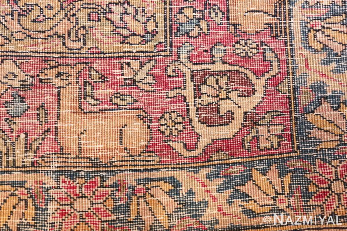 mythical antique tree of life design persian tehran rug 49197 knots Nazmiyal