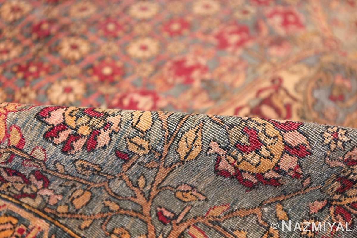 mythical antique tree of life design persian tehran rug 49197 pile Nazmiyal