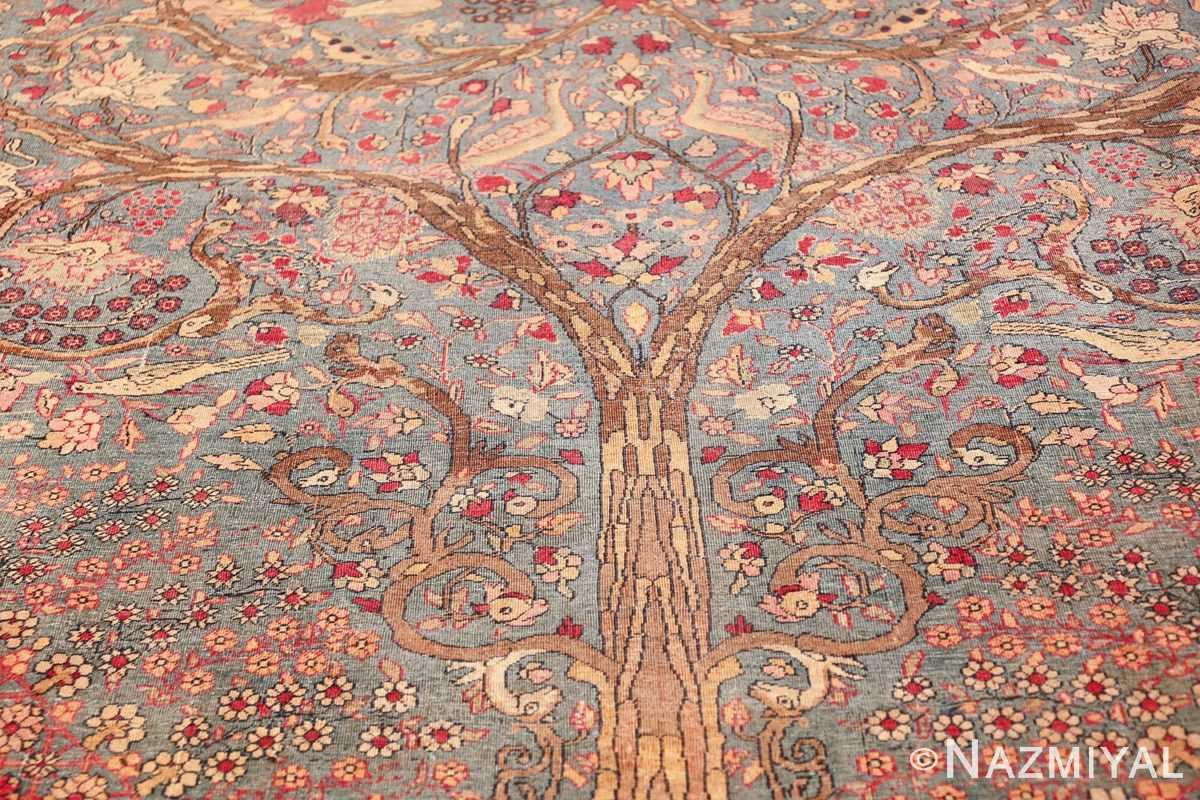 mythical antique tree of life design persian tehran rug 49197 tree Nazmiyal