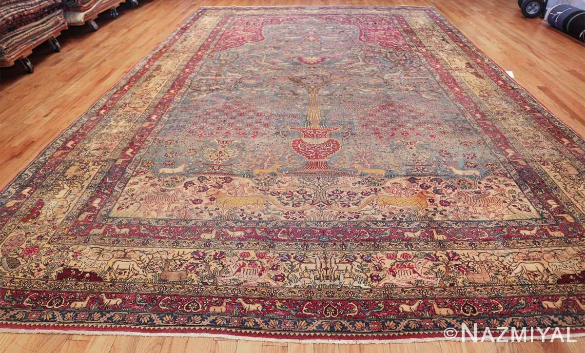 mythical antique tree of life design persian tehran rug 49197 whole Nazmiyal