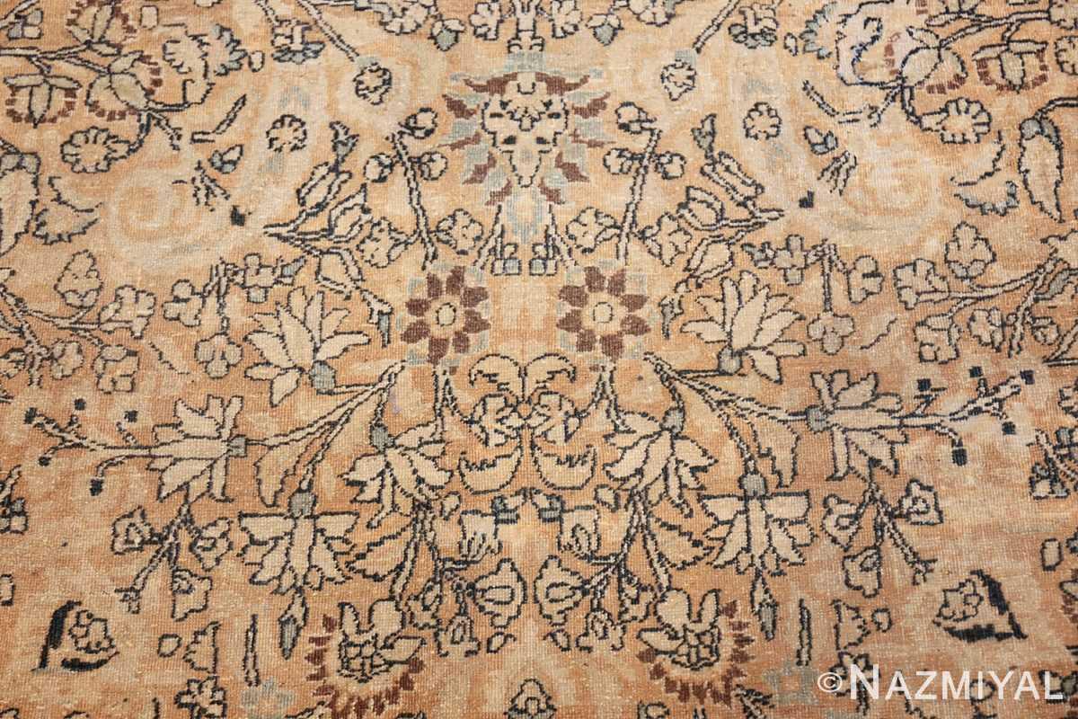 oversize neutral earth tone color persian khorassan rug 49427 ivory Nazmiyal
