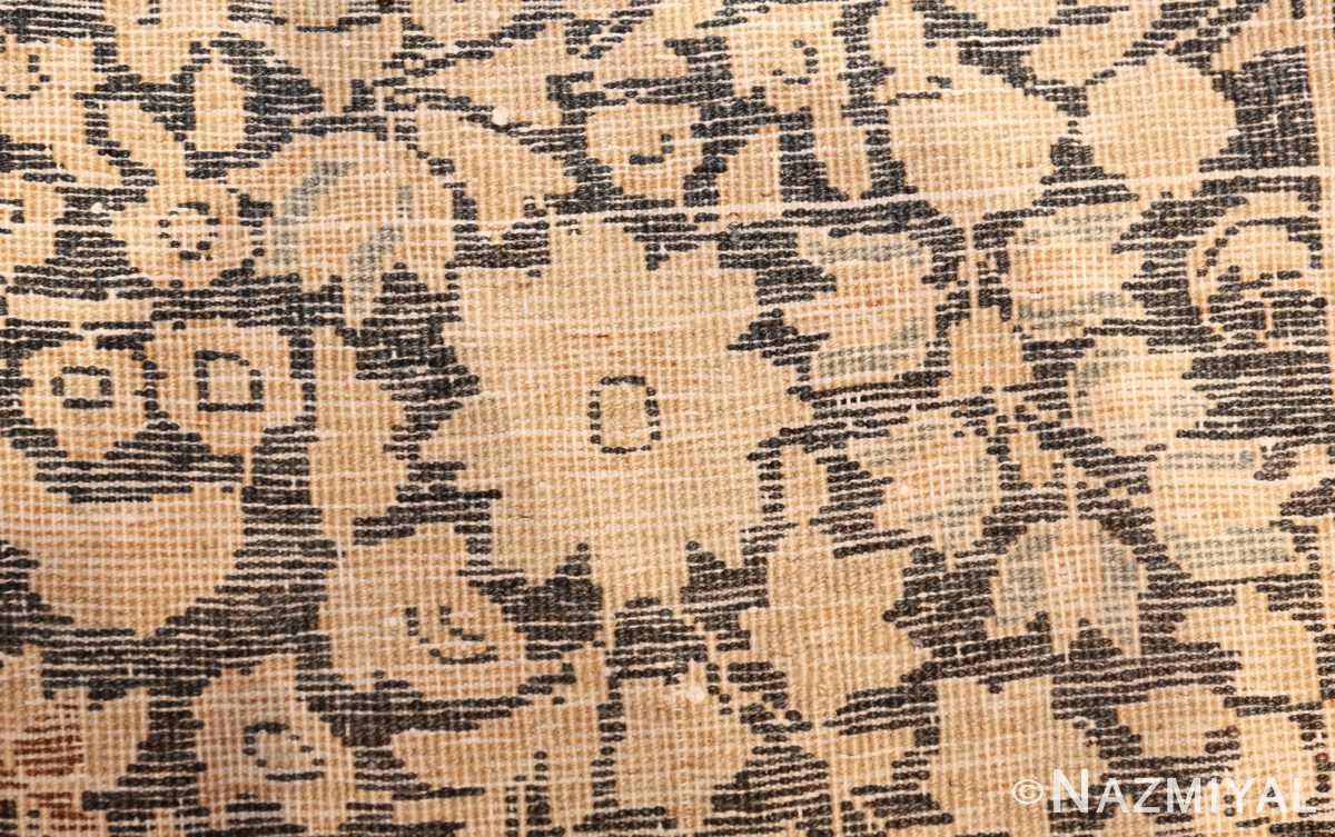 oversize neutral earth tone color persian khorassan rug 49427 knots Nazmiyal