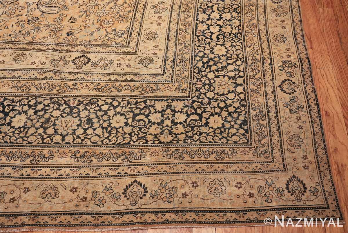 oversize neutral earth tone color persian khorassan rug 49427 part Nazmiyal