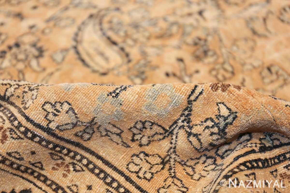 oversize neutral earth tone color persian khorassan rug 49427 pile Nazmiyal