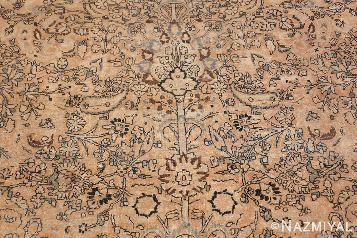 oversize neutral earth tone color persian khorassan rug 49427 tree Nazmiyal