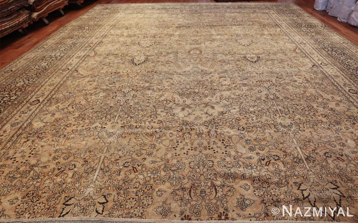 oversize neutral earth tone color persian khorassan rug 49427 whole Nazmiyal