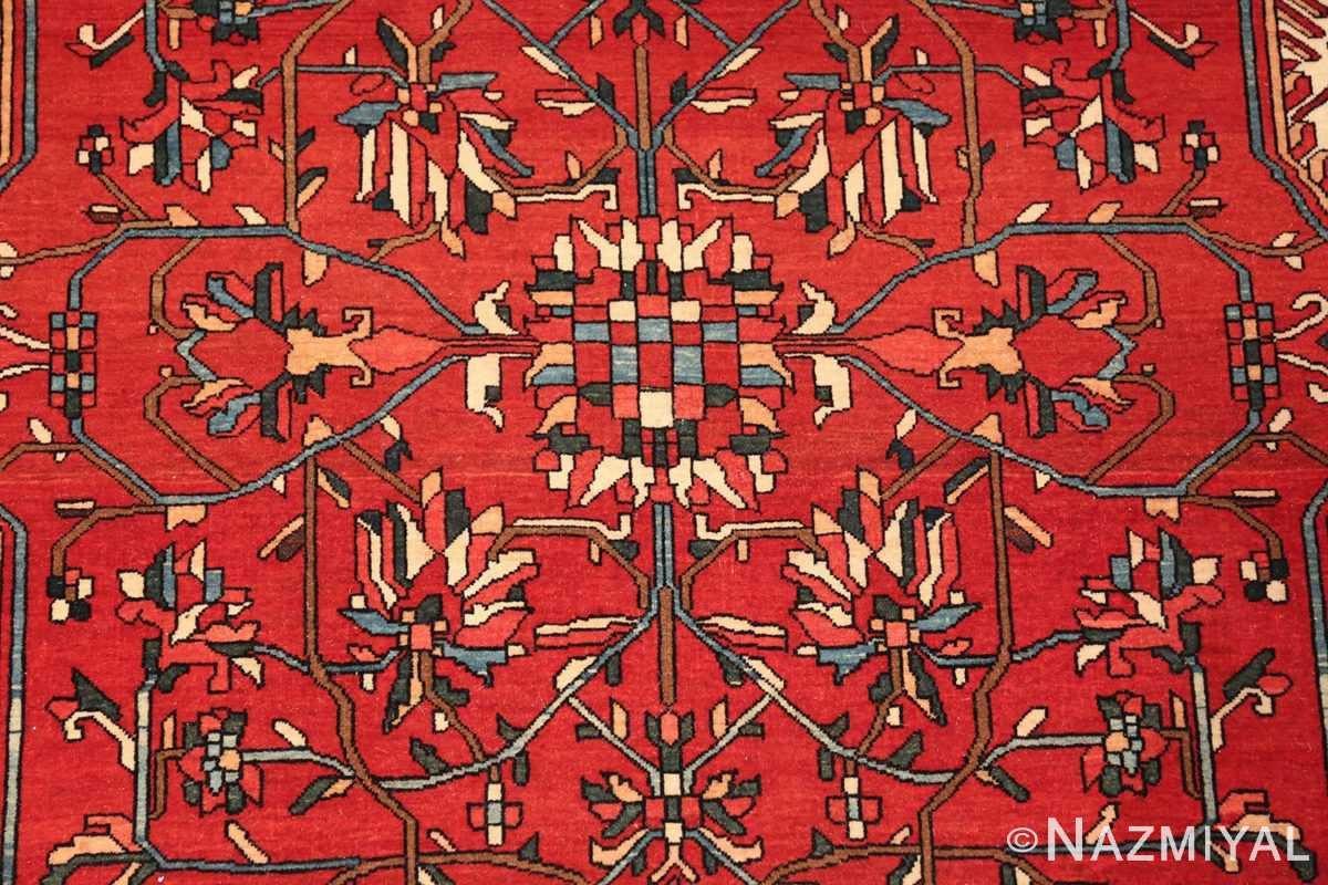 small size fine antique persian sarouk farahan rug 49673 center Nazmiyal