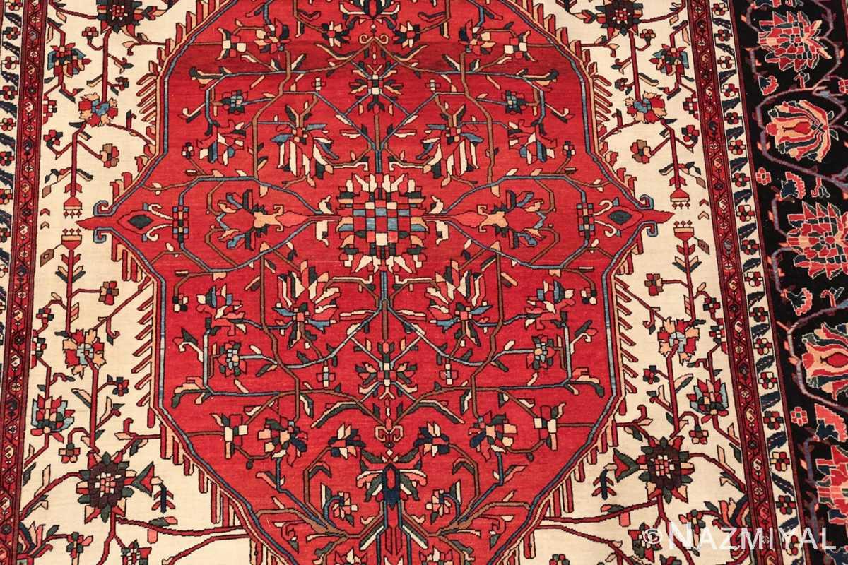 small size fine antique persian sarouk farahan rug 49673 part Nazmiyal