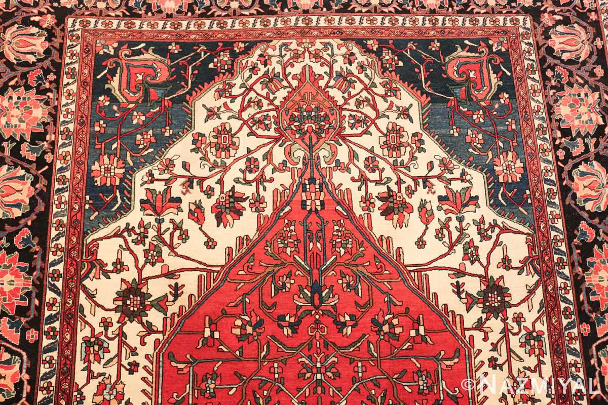 small size fine antique persian sarouk farahan rug 49673 top Nazmiyal