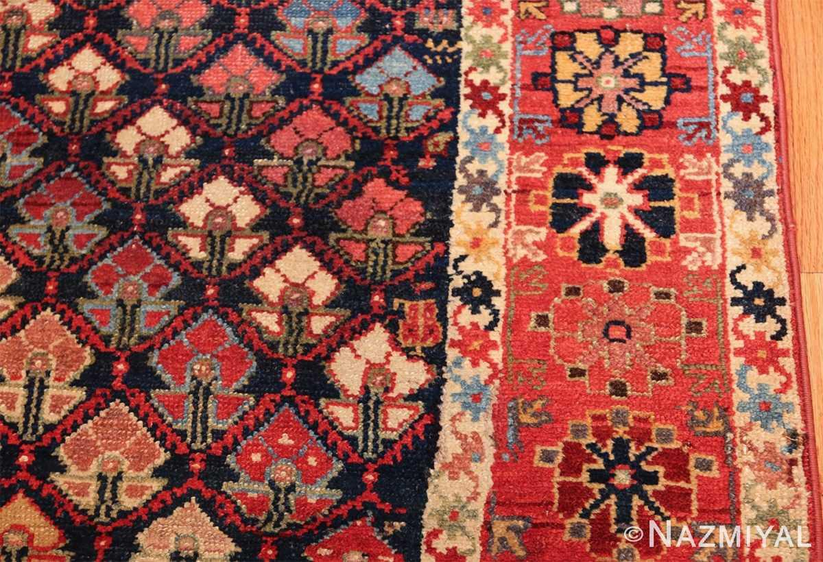 tribal antique northwest persian runner rug 49423 border Nazmiyal