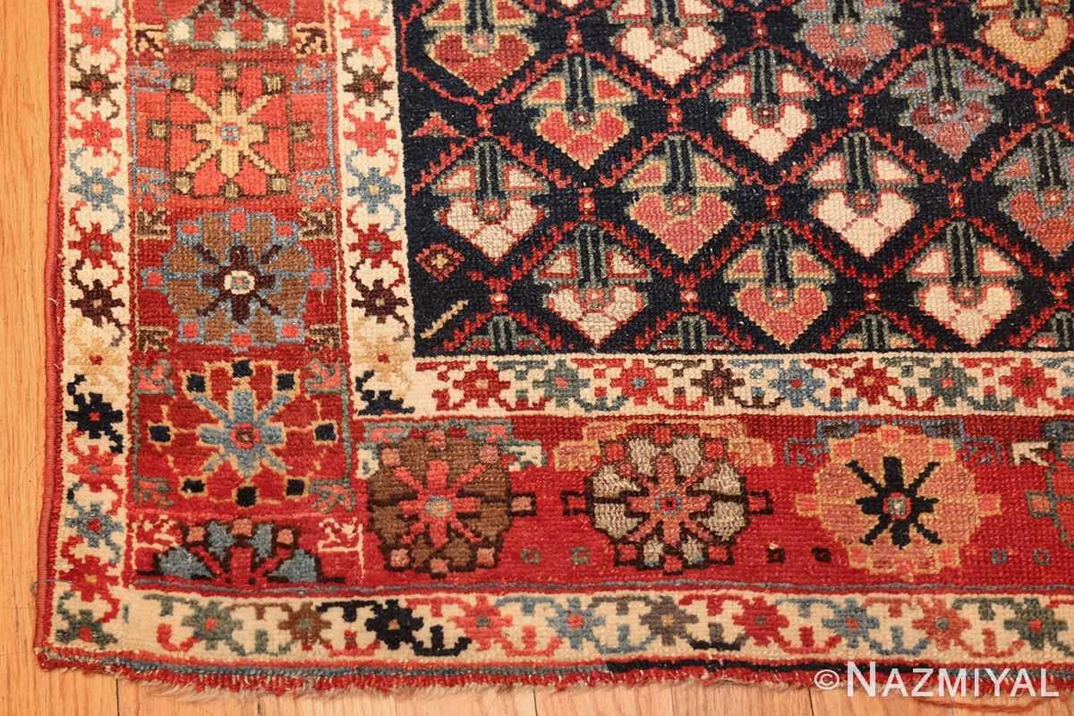 tribal antique northwest persian runner rug 49423 corner Nazmiyal