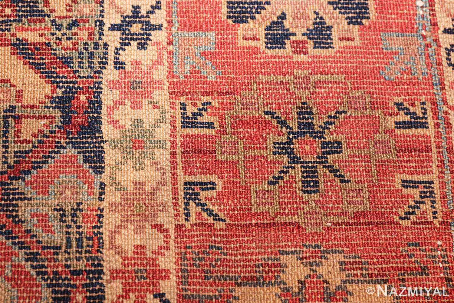 tribal antique northwest persian runner rug 49423 knots Nazmiyal