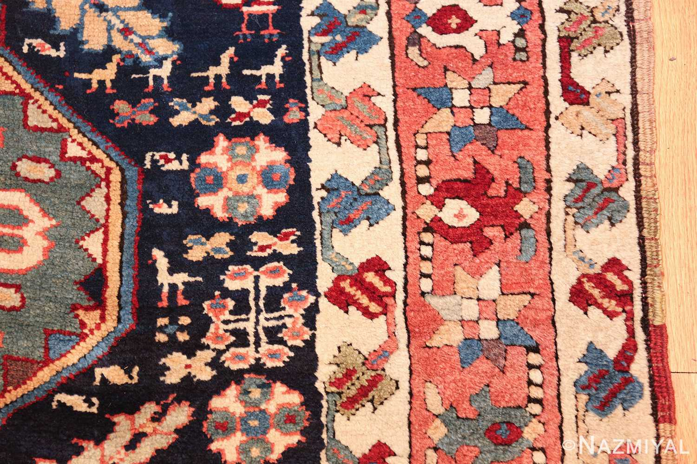 tribal antique persian northwest runner rug 49424 animals Nazmiyal
