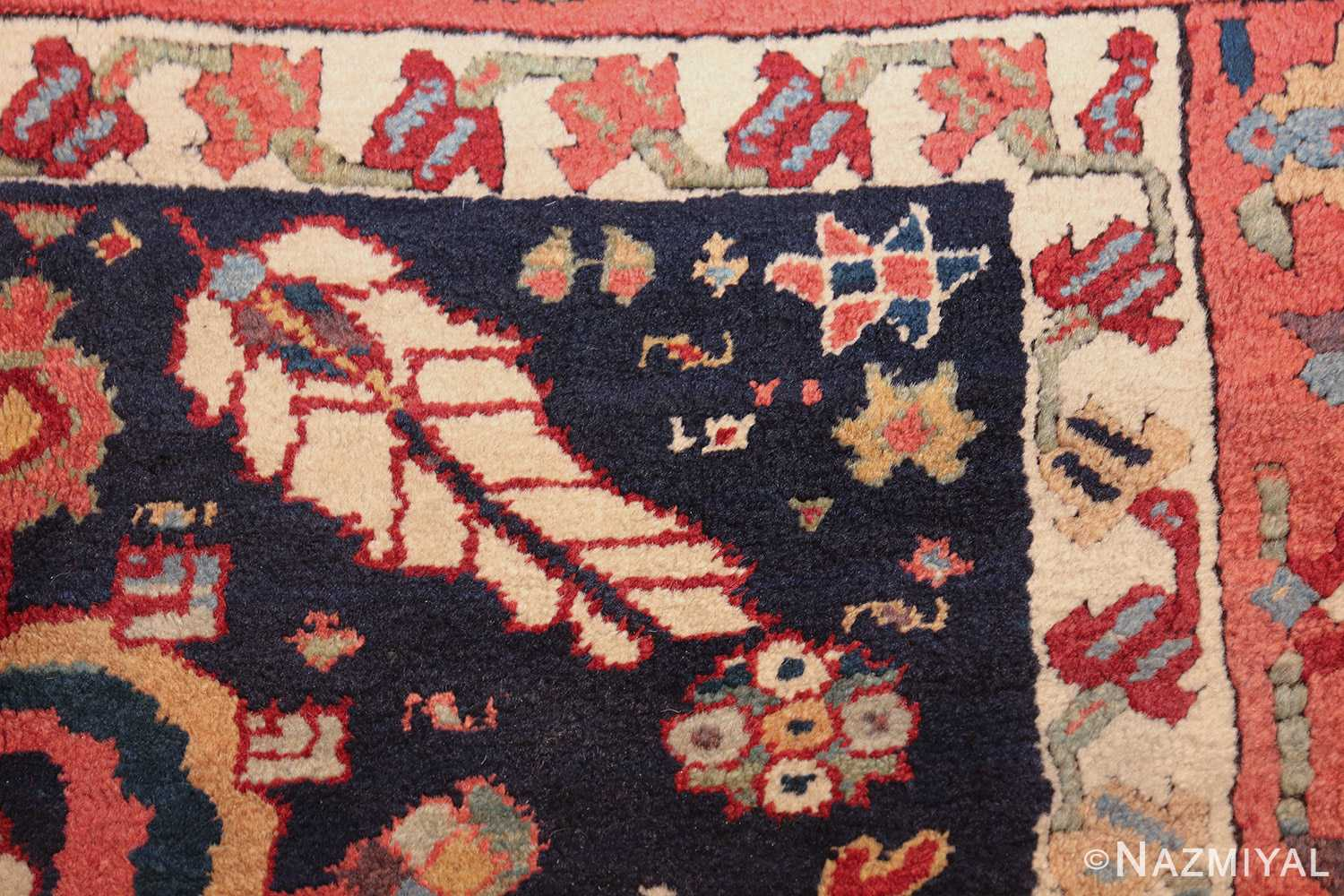 tribal antique persian northwest runner rug 49424 feather Nazmiyal