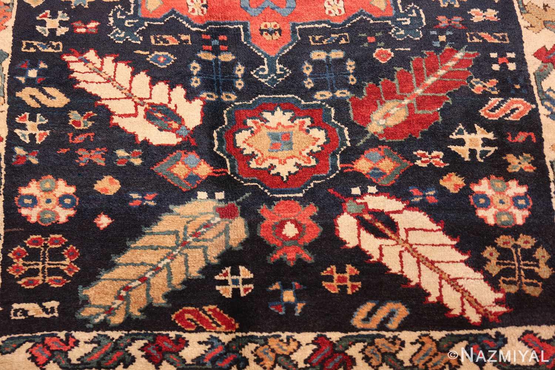 tribal antique persian northwest runner rug 49424 flower Nazmiyal