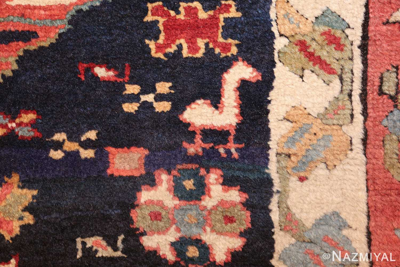 tribal antique persian northwest runner rug 49424 horse Nazmiyal