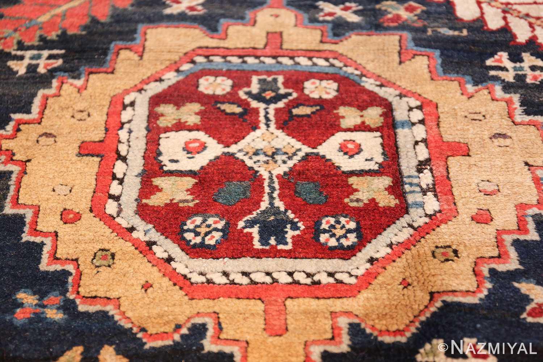 tribal antique persian northwest runner rug 49424 medallion Nazmiyal