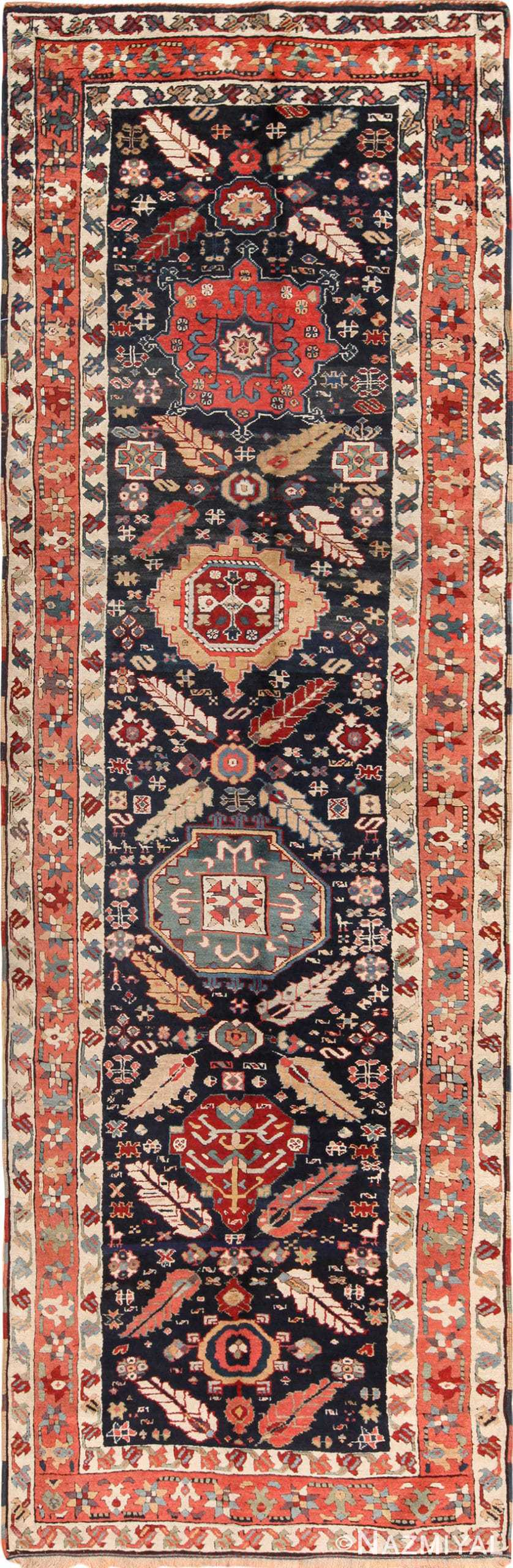 Tribal Antique Northwest Persian Runner Rug 49424 by Nazmiyal