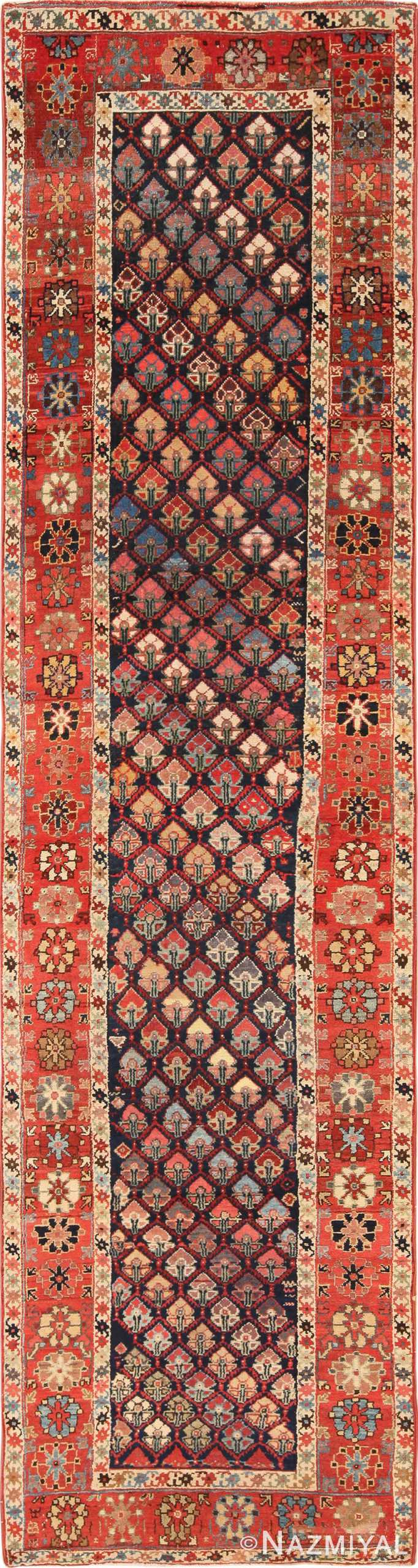Tribal Antique Northwest Persian Runner Rug 49423 by Nazmiyal