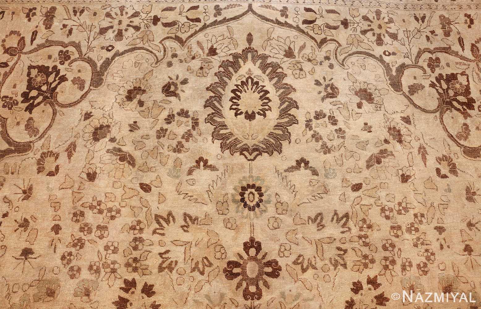 vase design antique persian tabriz rug 50445 arch Nazmiyal