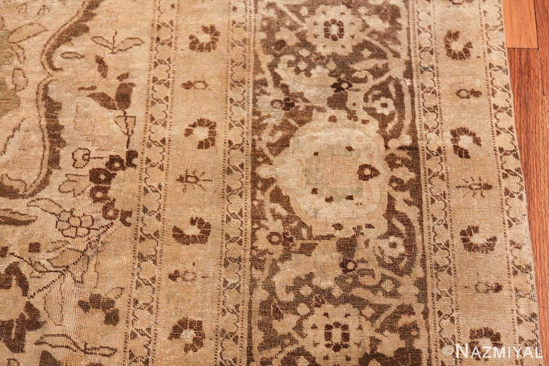 vase design antique persian tabriz rug 50445 border Nazmiyal
