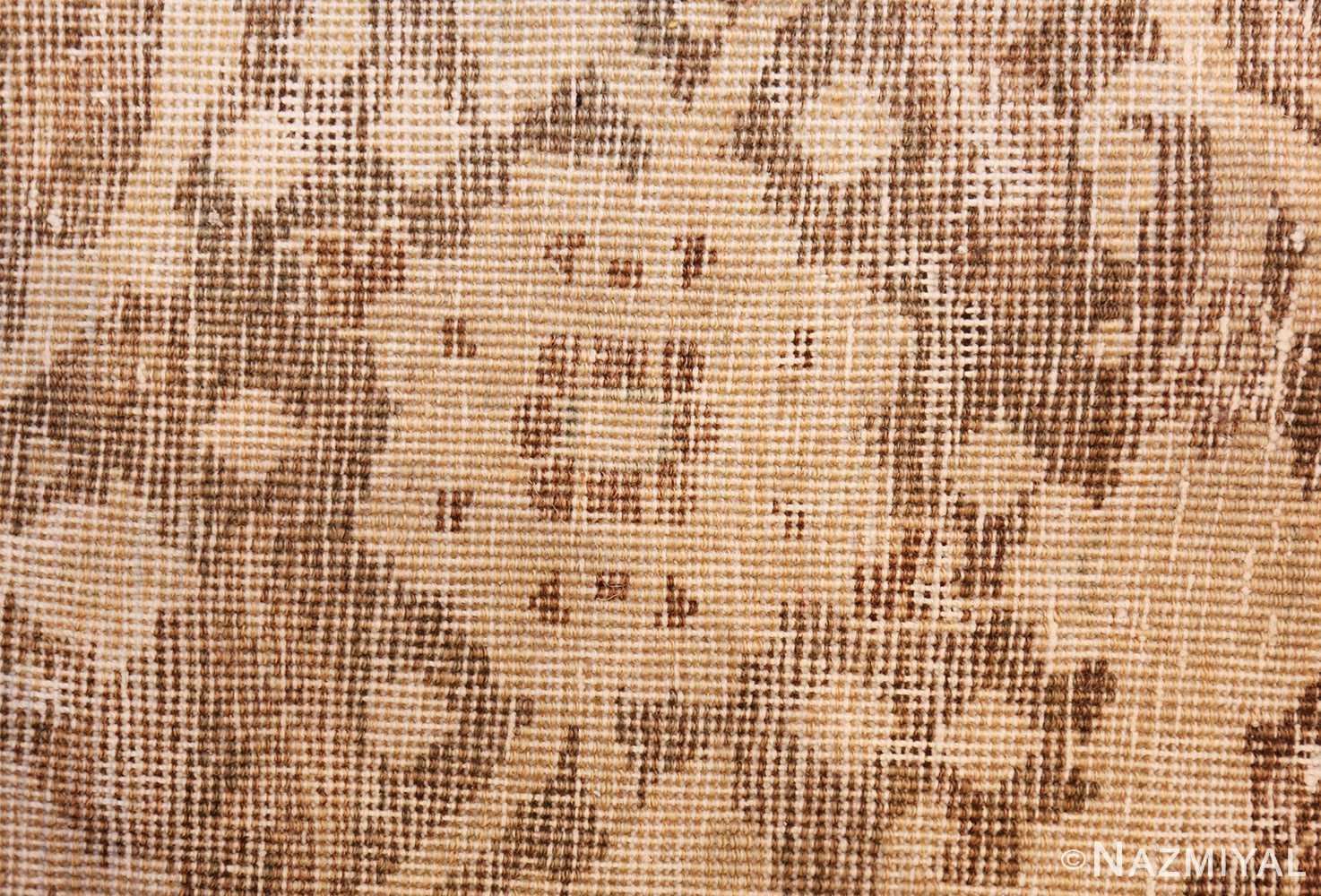 vase design antique persian tabriz rug 50445 knots Nazmiyal