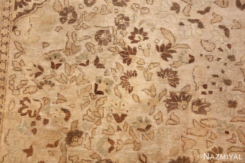 vase design antique persian tabriz rug 50445 leaves Nazmiyal