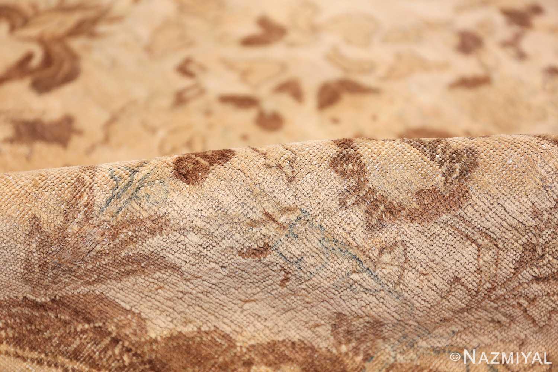 vase design antique persian tabriz rug 50445 pile Nazmiyal