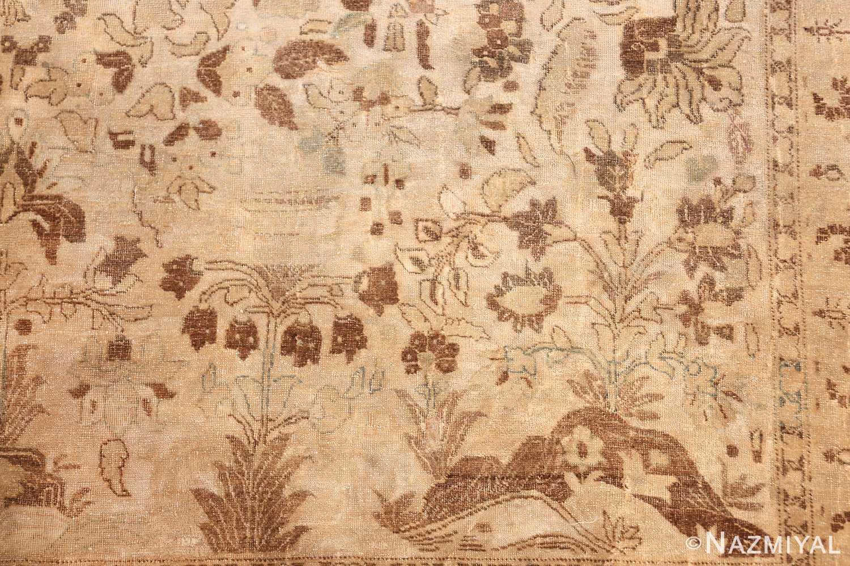 vase design antique persian tabriz rug 50445 plant Nazmiyal