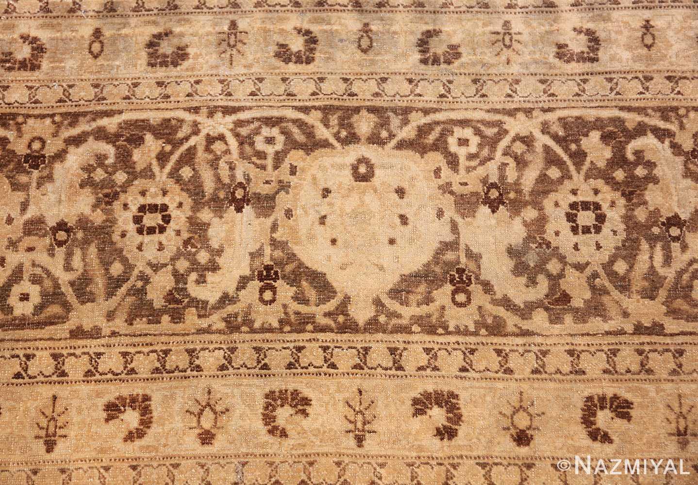 vase design antique persian tabriz rug 50445 scrolls Nazmiyal