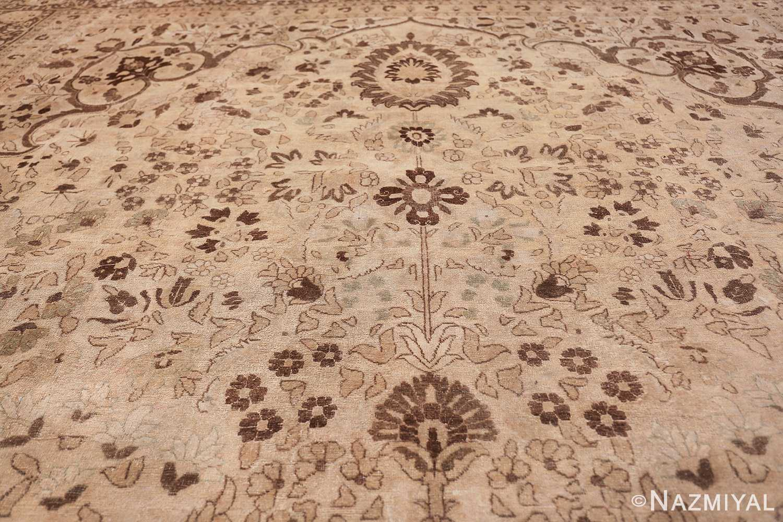 vase design antique persian tabriz rug 50445 top Nazmiyal
