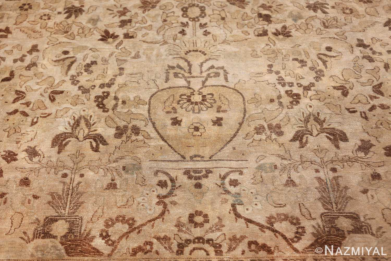 vase design antique persian tabriz rug 50445 vase Nazmiyal