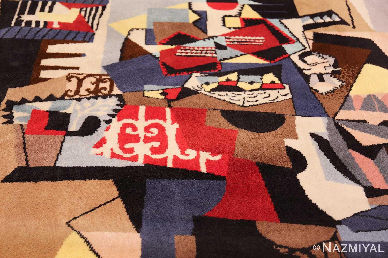 vintage pablo picasso scandinavian rug 49683 field Nazmiyal