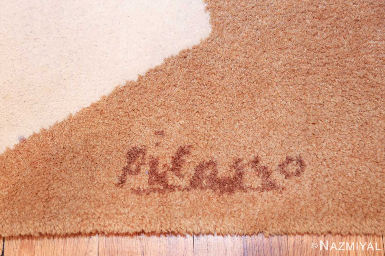 vintage pablo picasso scandinavian rug 49683 picasso Nazmiyal
