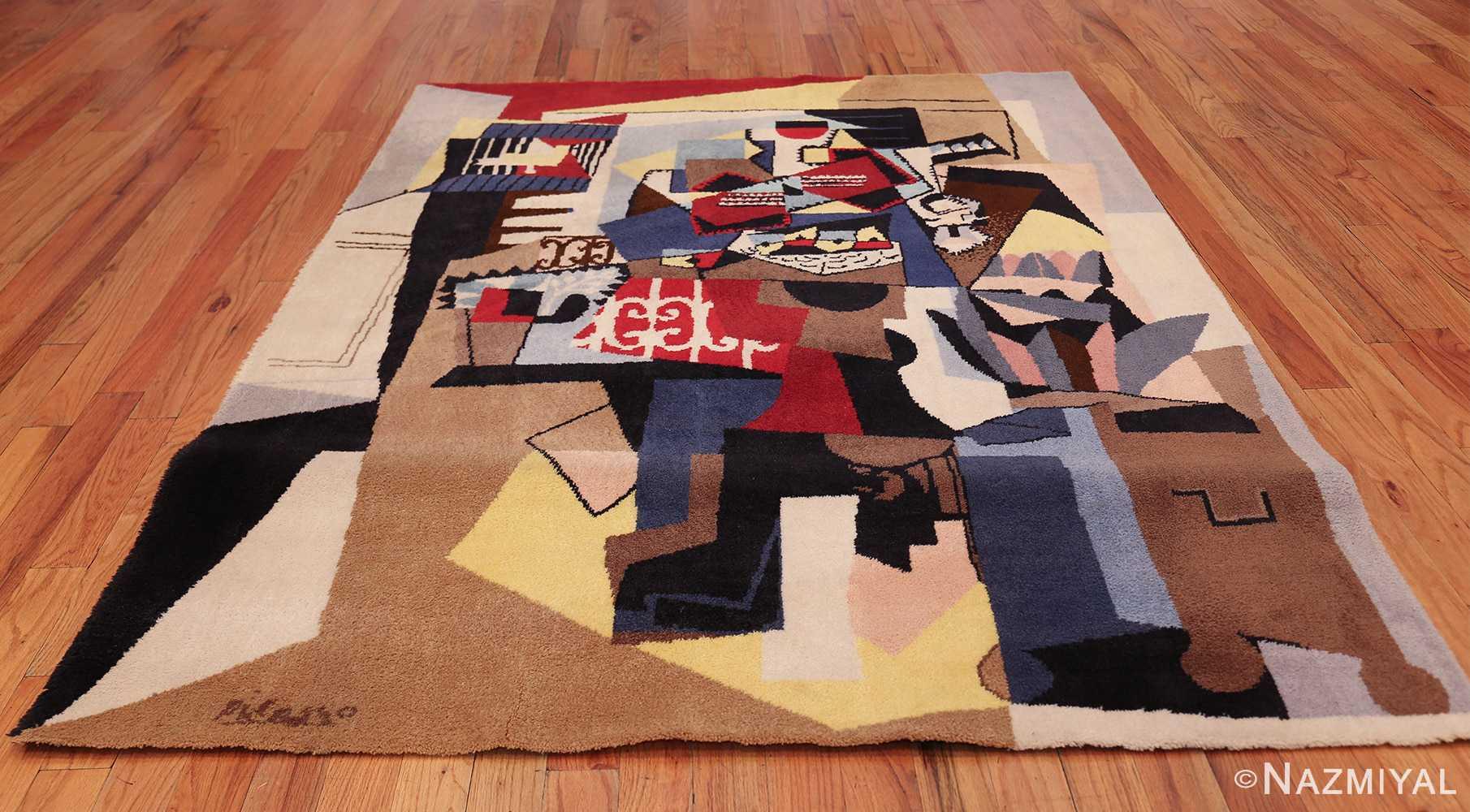 vintage pablo picasso scandinavian rug 49683 whole Nazmiyal